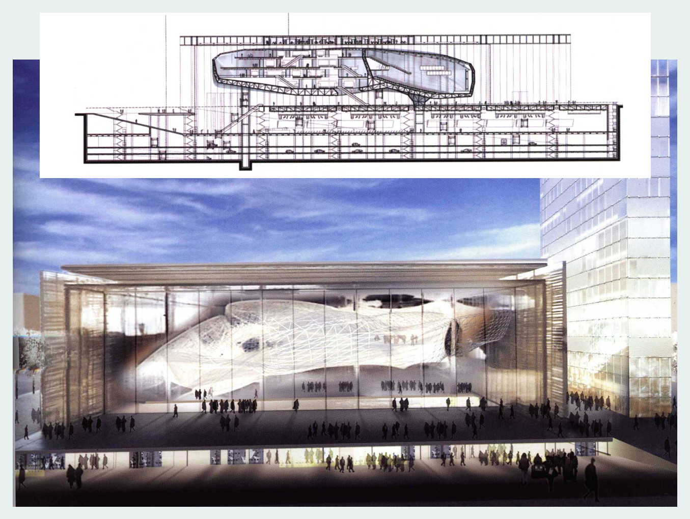 Roma Convention Center - La Nuvola